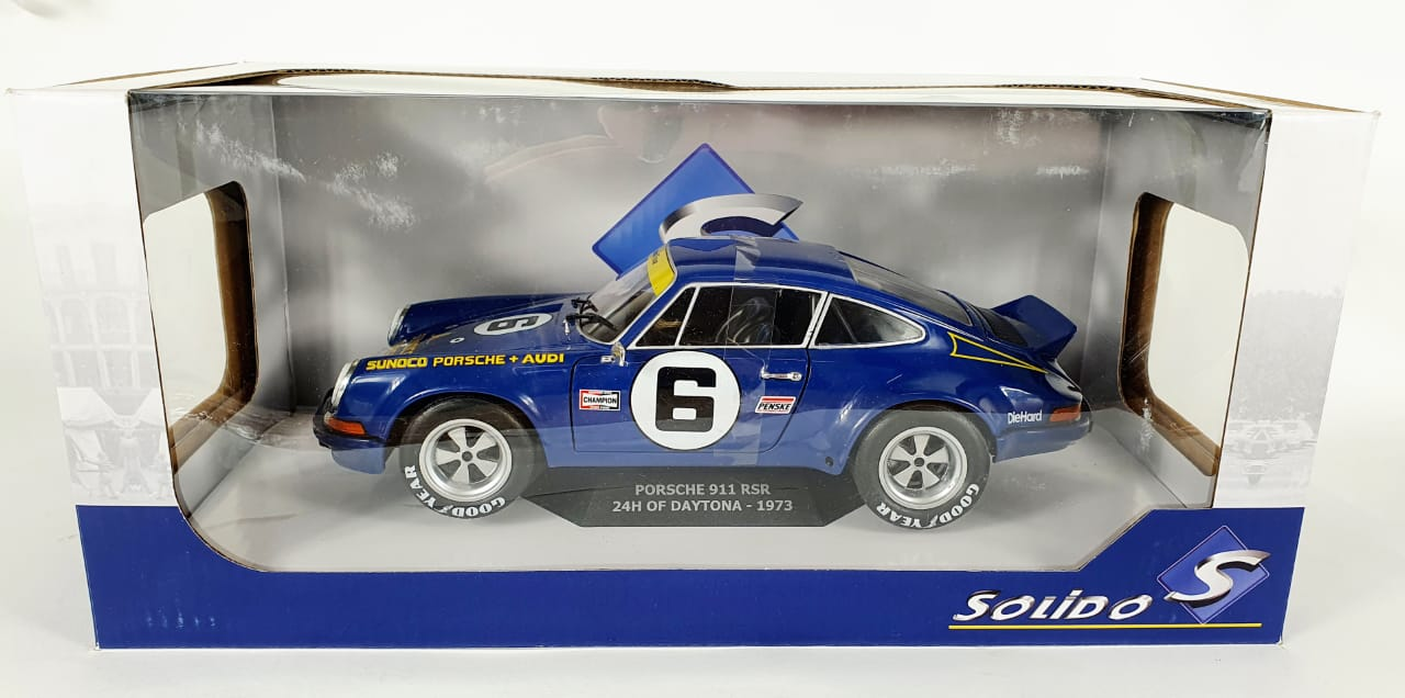 Miniatura Porsche 911 RSR 24H Of Daytona 1/18 Solido