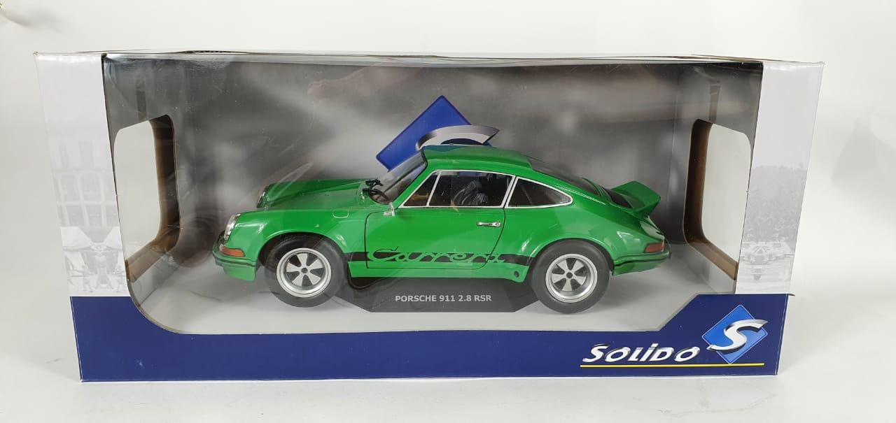 Miniatura Porsche 911 RSR Verde 1/18 Solido