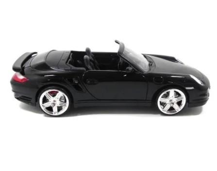 Miniatura Porsche 911 Turbo Cabriolet 1/18 Motor Max