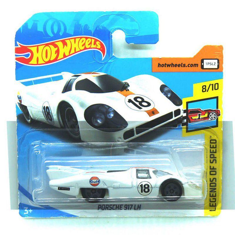 Miniatura Porsche 917 LH Gulf Legends of Speed 1/64 Hot Wheels