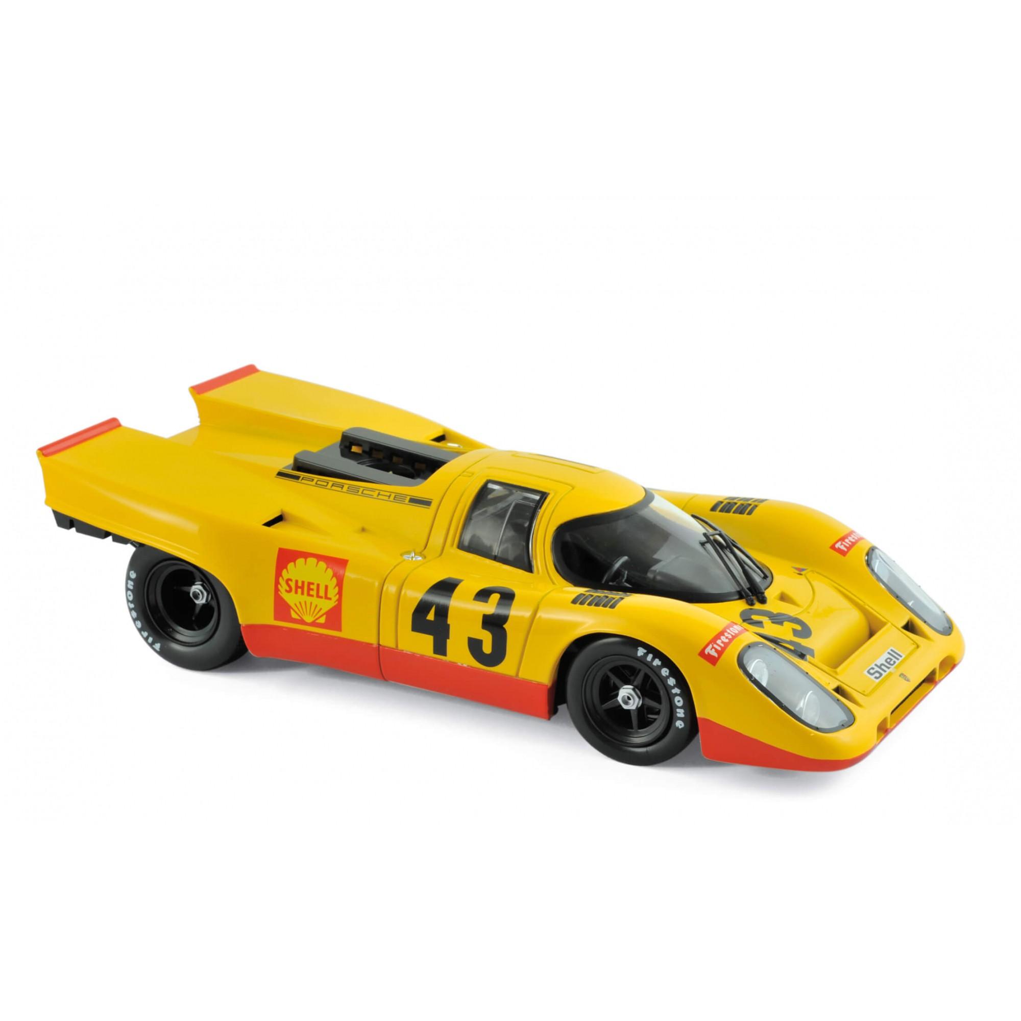 Miniatura Porsche 917K #43 1000Km Spa 1970 5Th Place  Laine 1/18 Norev