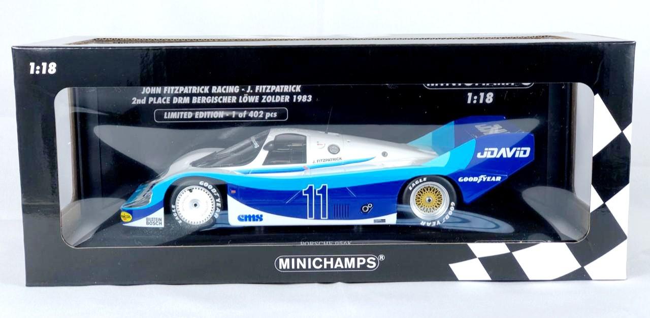 Miniatura Porsche 956K John Fitzpatrick Racing 1/18 Minichamps