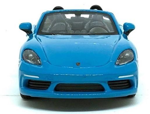 Miniatura Porsche Boxter 718 1/24 Bburago