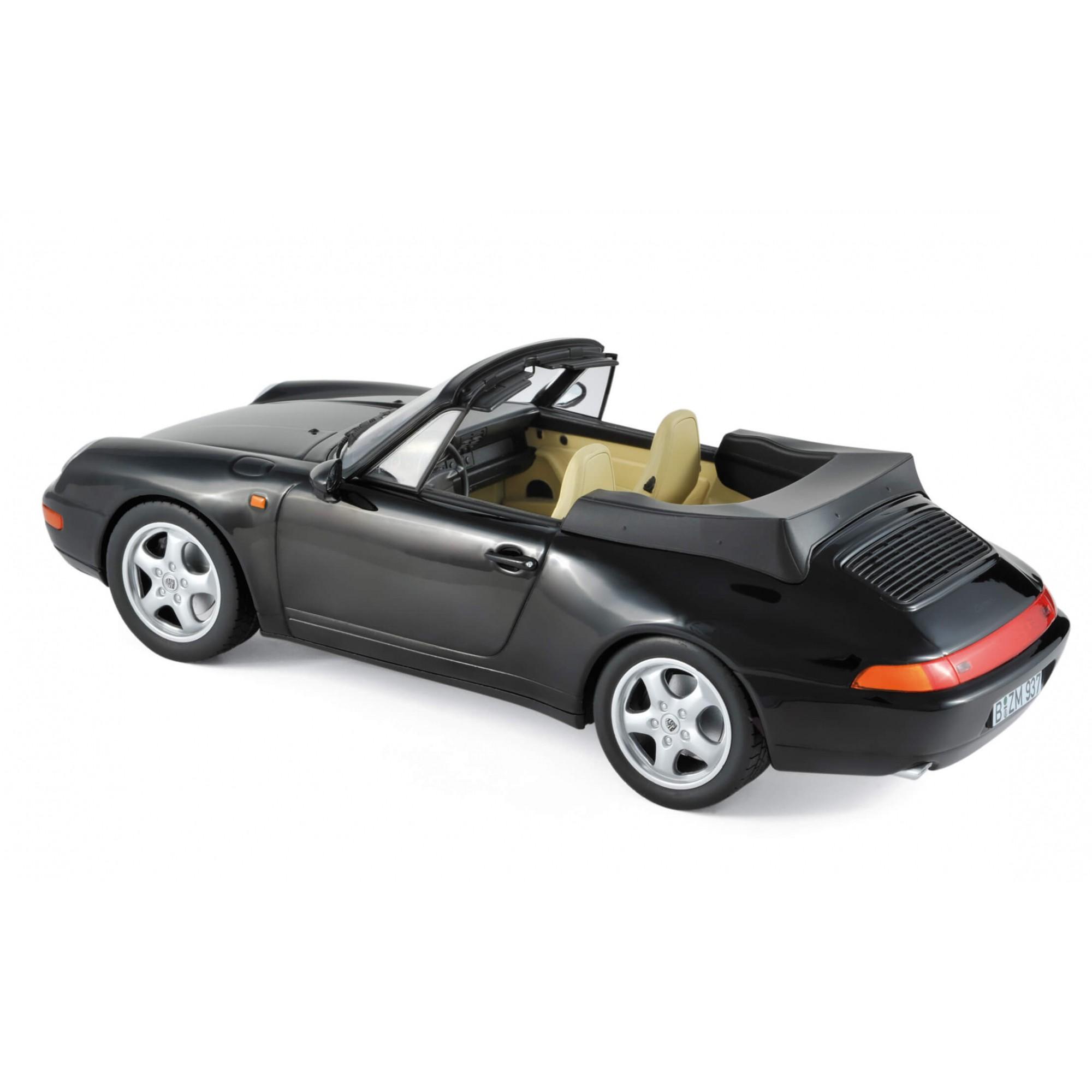 Miniatura Porsche Carrera Gabriolet 1993 1/18 Norev