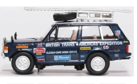 Miniatura Range Rover Classic Americas Expedition 1/76 Oxford