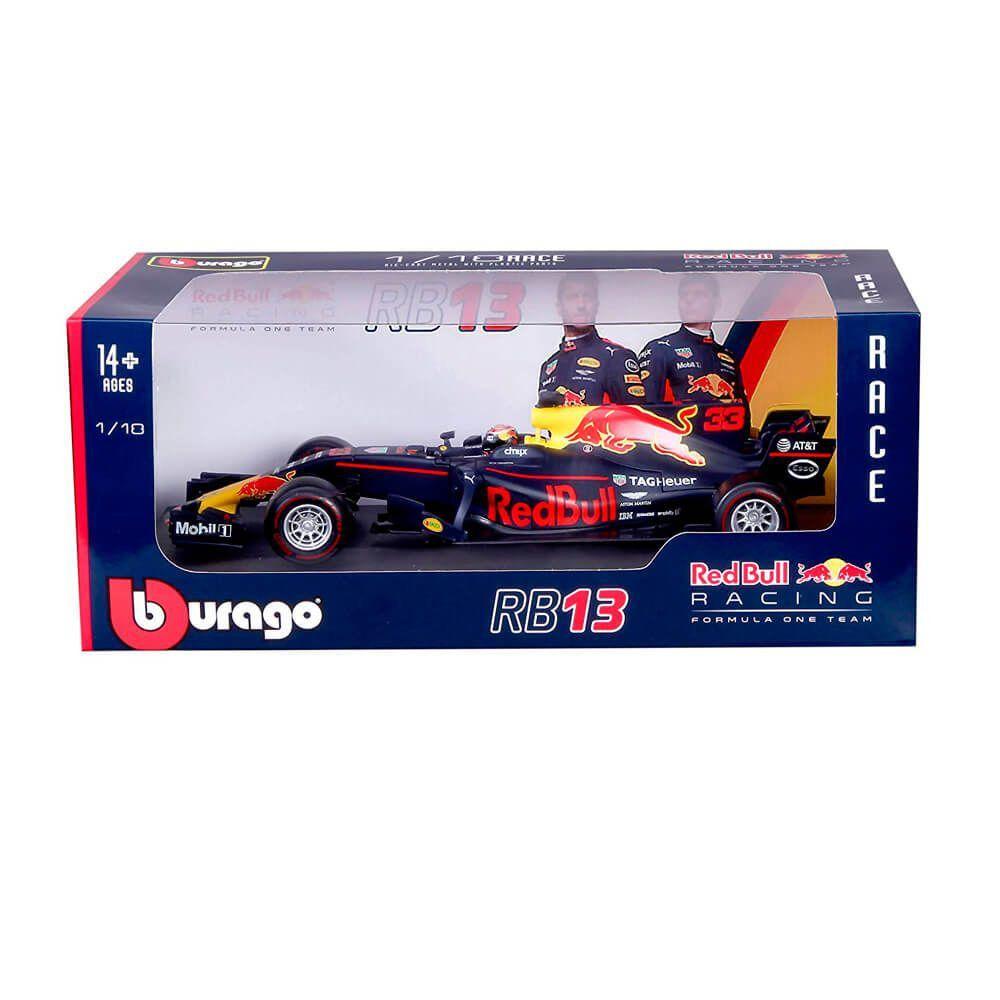 Miniatura Red Bull Racing Tag Heuer RB13 Max Verstappen 1/32 BBurago