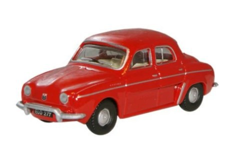Miniatura Renault Dauphine Red 1/76 Oxford