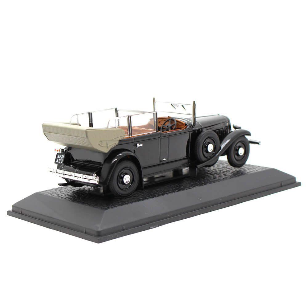 Miniatura Renault Reinastella Cabriolet 1936 Presidente França Albert Lebrun 1/43 Norev