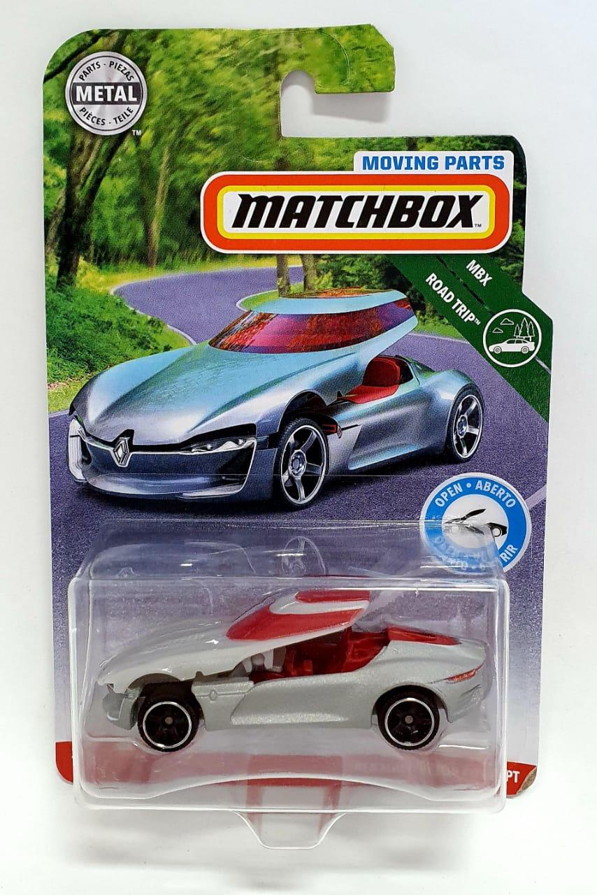 Miniatura Renault Trezor Concept 1/64 Matchbox
