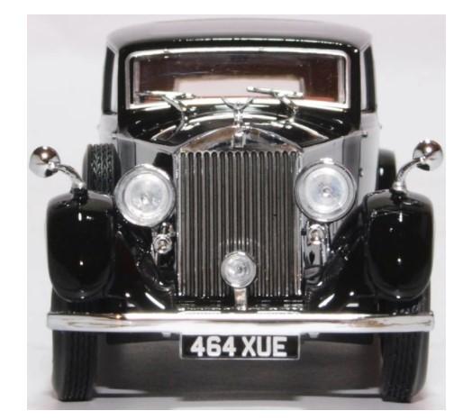 Miniatura Rolls Royce 25/30 Thrupp  Maberly Black 1/43 Oxford
