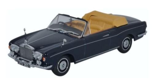 Miniatura Rolls Royce Corniche Conversivel Blue 1/43 Oxford
