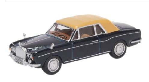 Miniatura Rolls Royce Corniche Indigo Blue 1/76 Oxford
