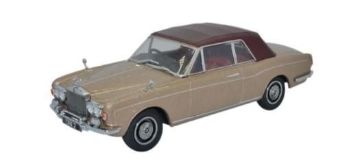 Miniatura Rolls Royce Corniche Persian Sand 1/43 Oxford
