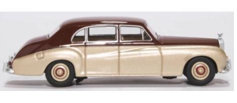 Miniatura Rolls Royce Phantom V Burgundy/Silver Sand 1/76 Oxford
