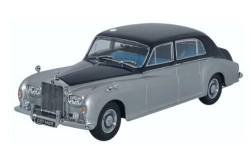 Miniatura Rolls Royce Phantom V James Silver 1/43 Oxford