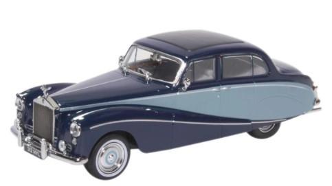 Miniatura Rolls Royce Silver Cloud  Hooper Empress Blue 1/43 Oxford