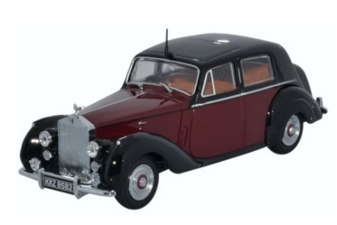 Miniatura Rolls Royce Silver Dawn Maroon 1/43 Oxford