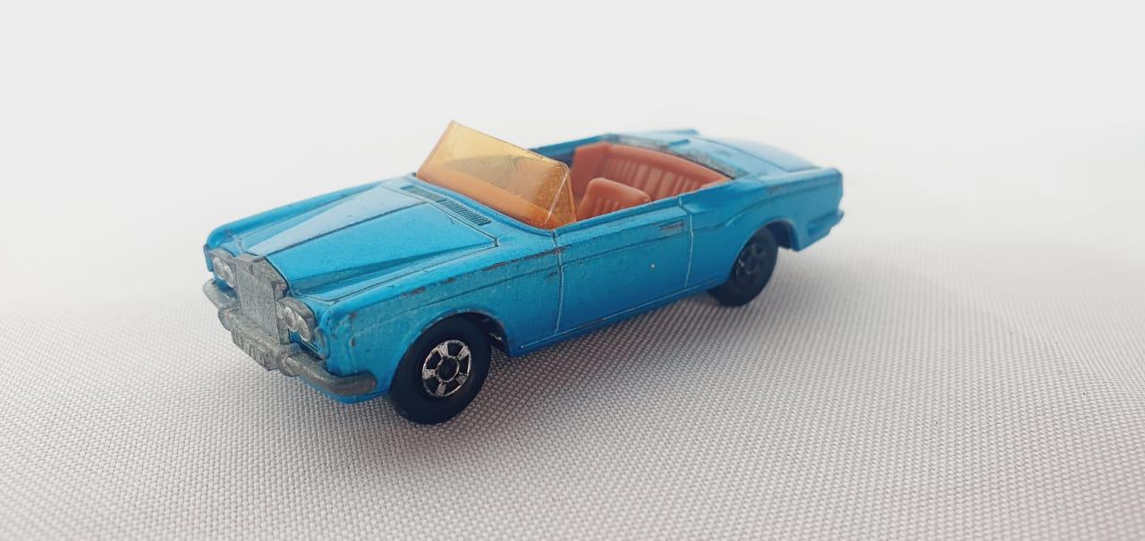 Miniatura Rolls Royce Silver Shadow Coupe N°69 Superfast 1/64 Matchbox
