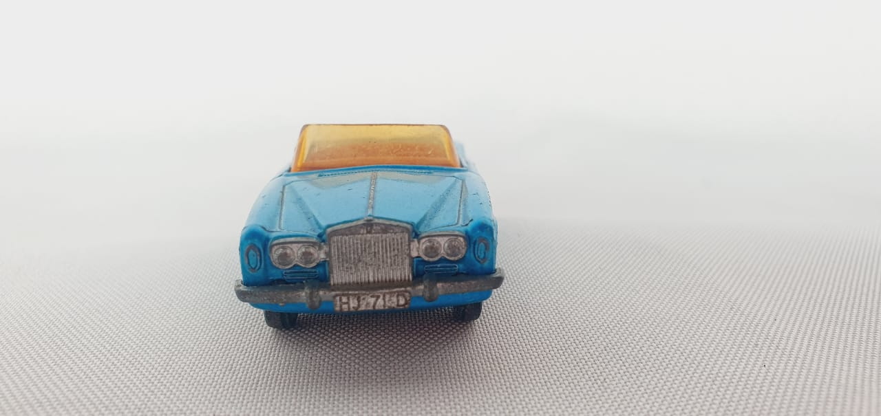 Miniatura Rolls Royce Silver Shadow Coupe N°69 Superfast 1/64 Matchbox