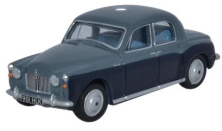 Miniatura Rover P4 Steel Blue/Light Navy 1/76 Oxford