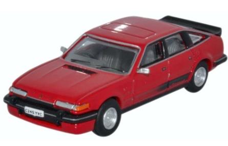 Miniatura Rover SD1 3500 Vitesse Targa Red 1/76 Oxford