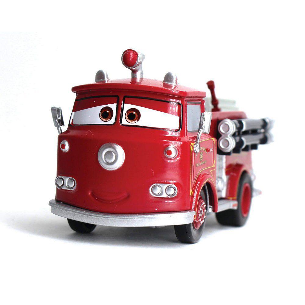 Miniatura Ruivo Disney Pixar Carros 1/43 Com Fricção