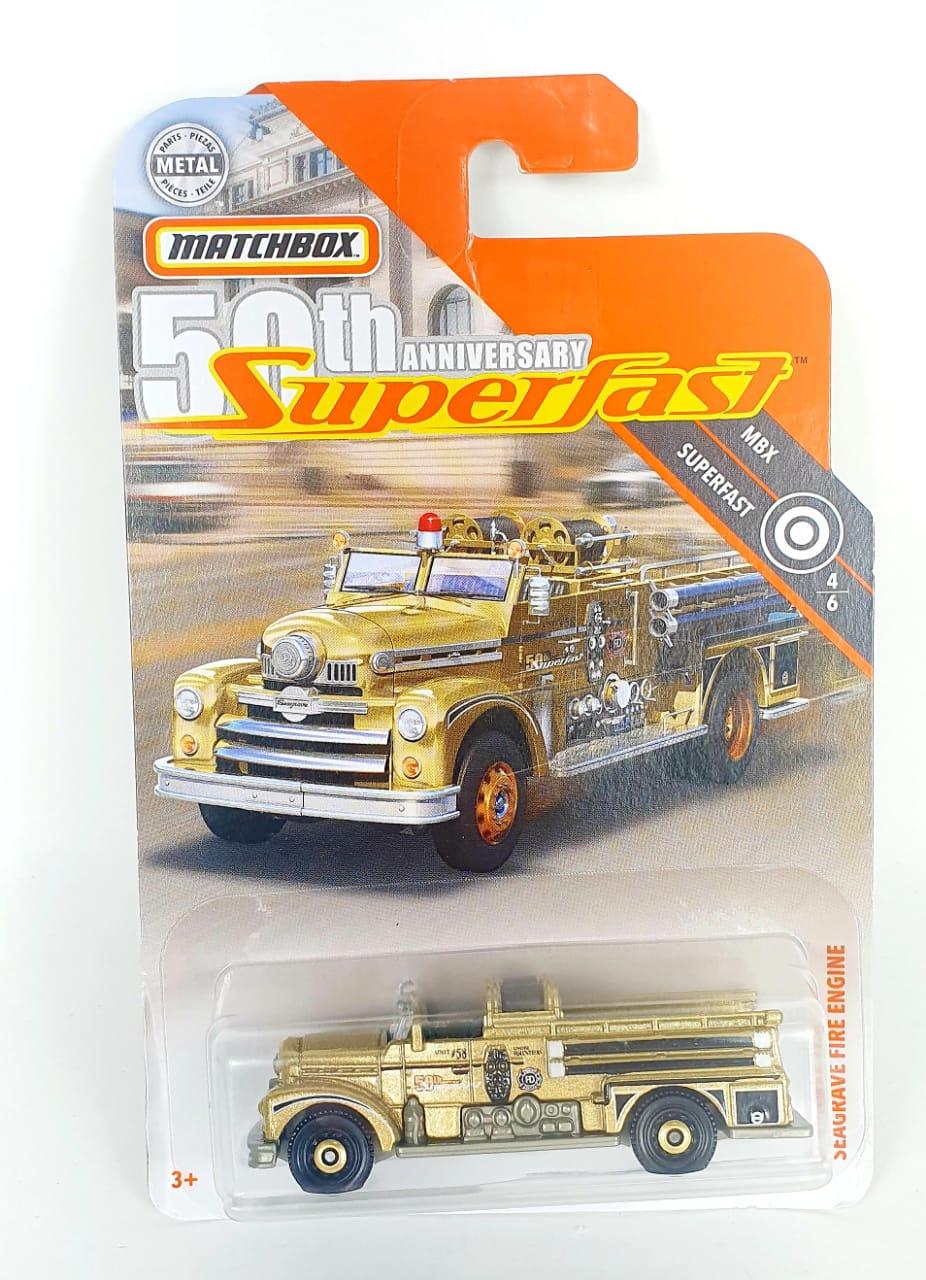Miniatura Seagrave Fire Engine 1/64 Matchbox