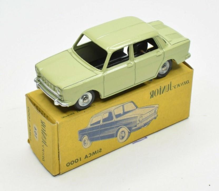 Miniatura Simca 1000 1/43 Dinky Toys