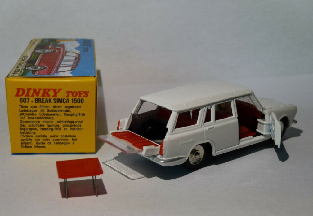 Miniatura Simca Break 1500 1/43 Dinky Toys