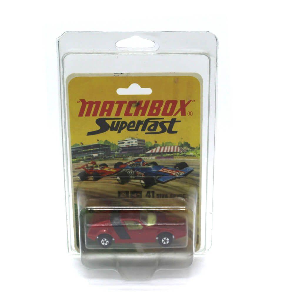 Miniatura Siva Spyder Superfast N 41 1971 1/64 Matchbox