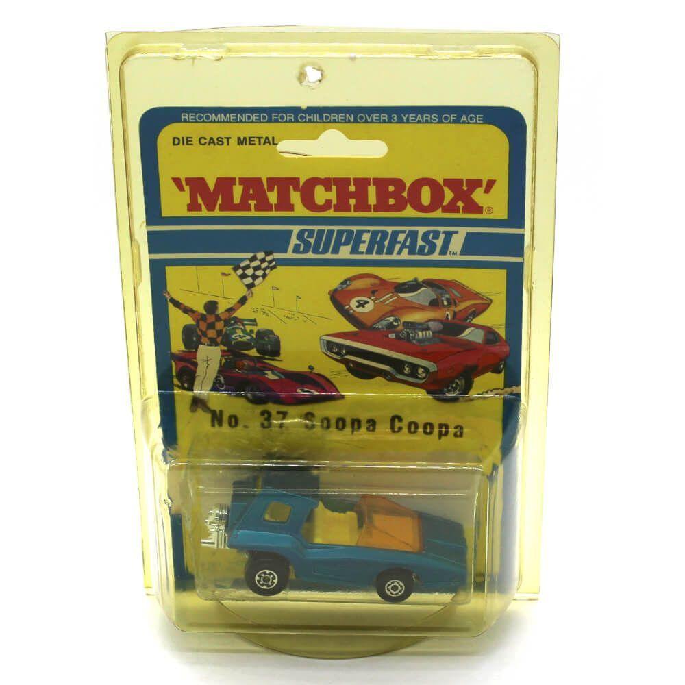 Miniatura Soopa Coopa Superfast N 37 1971 1/64 Matchbox