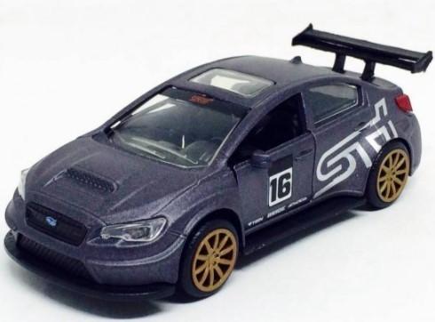 Miniatura Subaru WRX STI JDM 2016 Sem Caixa Grafite 1/24 Jada Toys