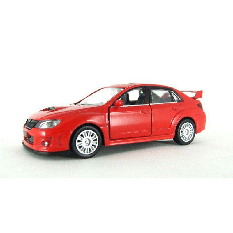 Miniatura Subaru WRX STI Luz e Som 1/32 Hot Wheels