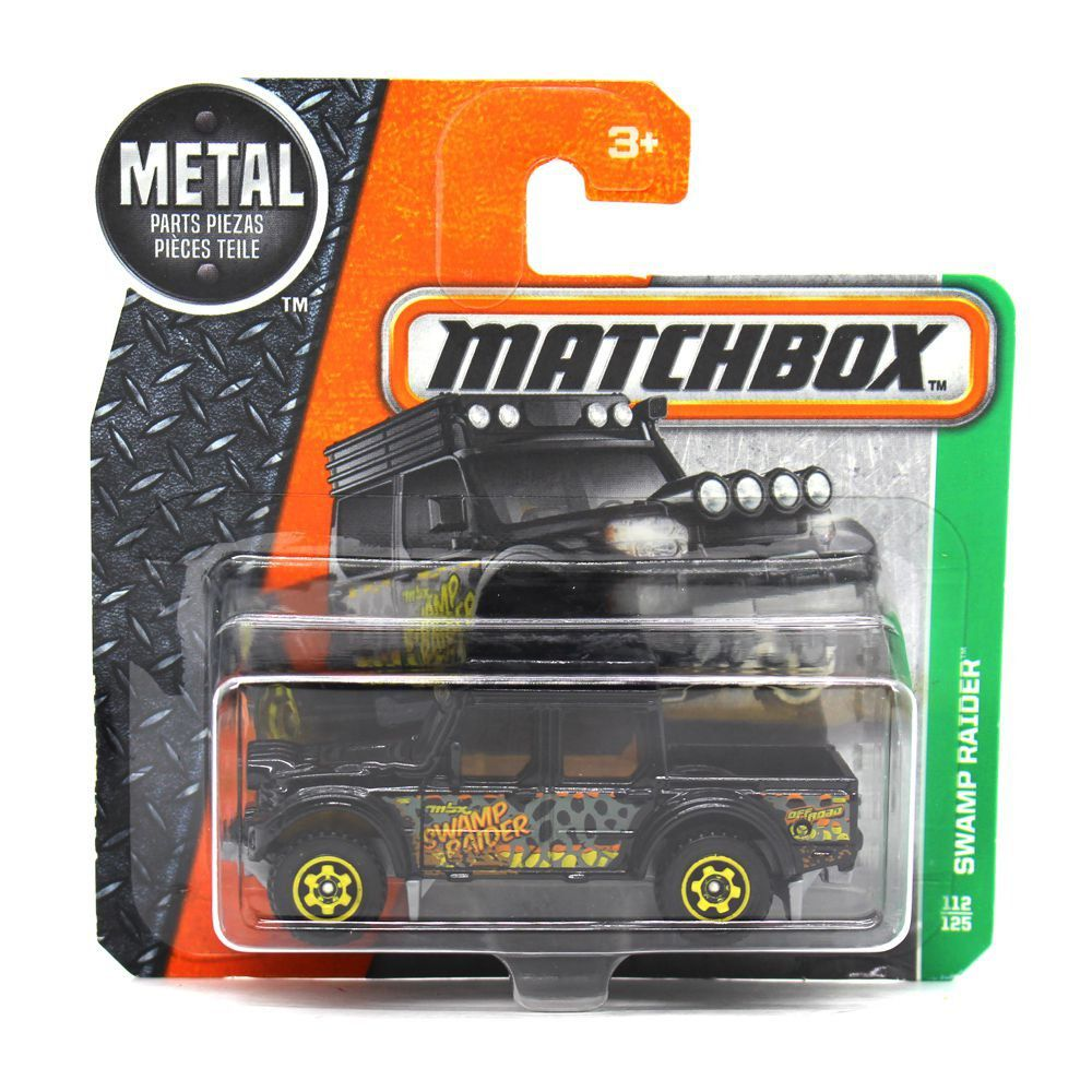 Miniatura Swamp Raider Matchdmg92-Cd10 1/64 Matchbox