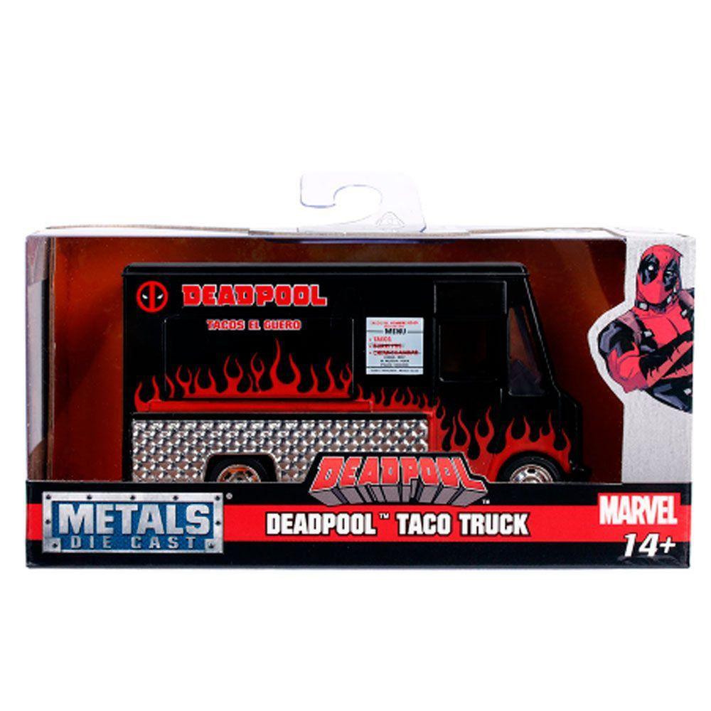 Miniatura Taco Food Truck Deadpool 1/32 Jada Toys