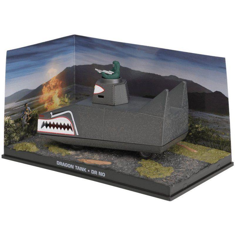 Miniatura Tanque Dragon – 007 James Bond Contra o satânico Dr. NO 1/43 Ixo