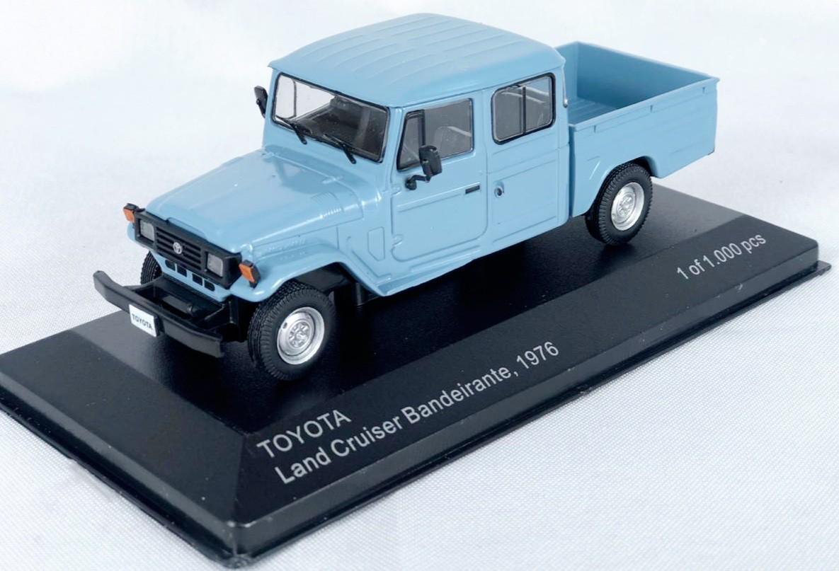 Miniatura Toyota Bandeirante Land Cruiser 1/43 Whitebox