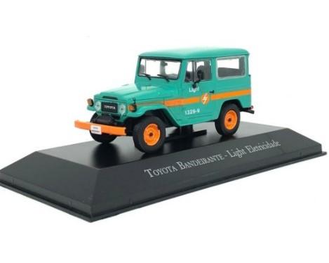 Miniatura Toyota Bandeirante Light Eletricidade 1/43 Ixo