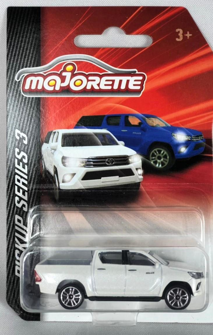 Miniatura Toyota Hilux Revo Branca PickUp Series 1/64 Majorette