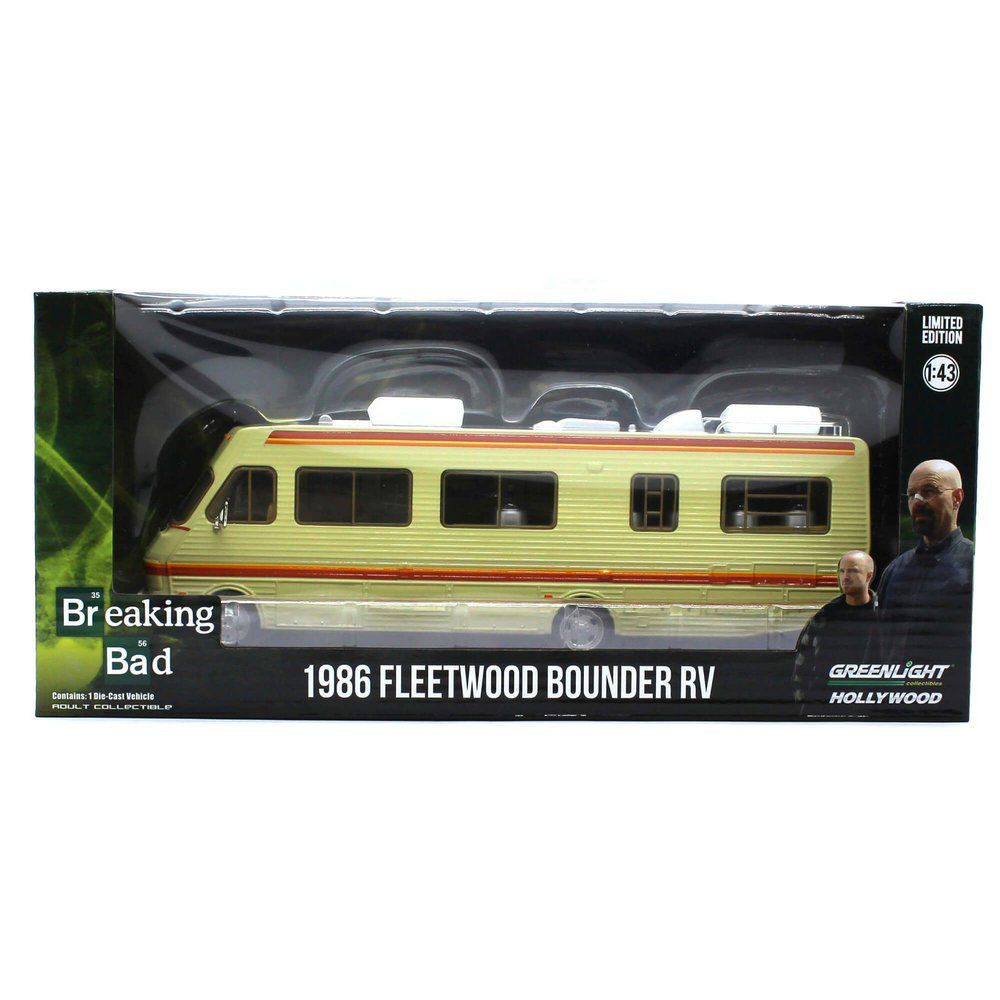 Miniatura Trailer Breaking Bad Fleetwood Bounder RV 1986 1/43 Greenlight