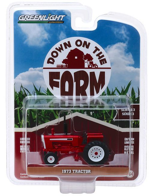 Miniatura Trator 1973 Down on the Farm 1/64 Greenlight