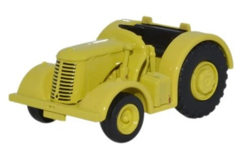Miniatura Trator David Brown Yellow 1/76 Oxford
