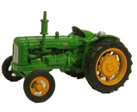 Miniatura Trator Fordson Green 1/76 Oxford