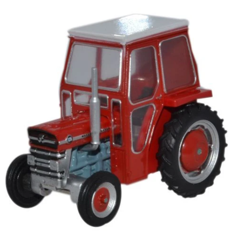 Miniatura Trator Massey Ferguson 135 Red 1/76 Oxford