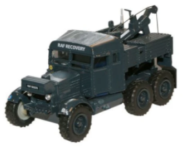 Miniatura Trator RAF Scammell Pioneer Recovery  1/76 Oxford