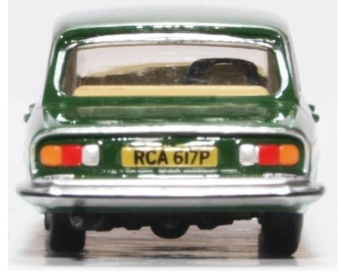 Miniatura Triumph 2500 Leicestershire Racing Green 1/76 Oxford