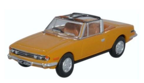 Miniatura Triumph Stag Saffron 1/76 Oxford