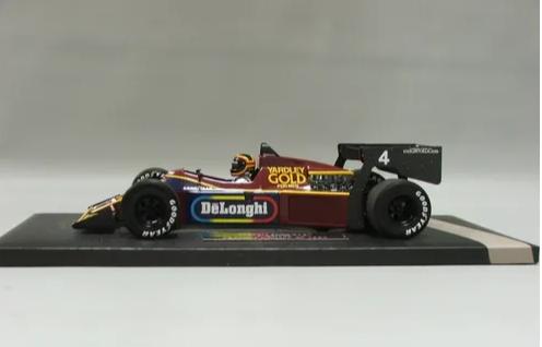 Miniatura Tyrrel Ford 012 S. Bellof GP Monaco 1984 1/18 Minichamps