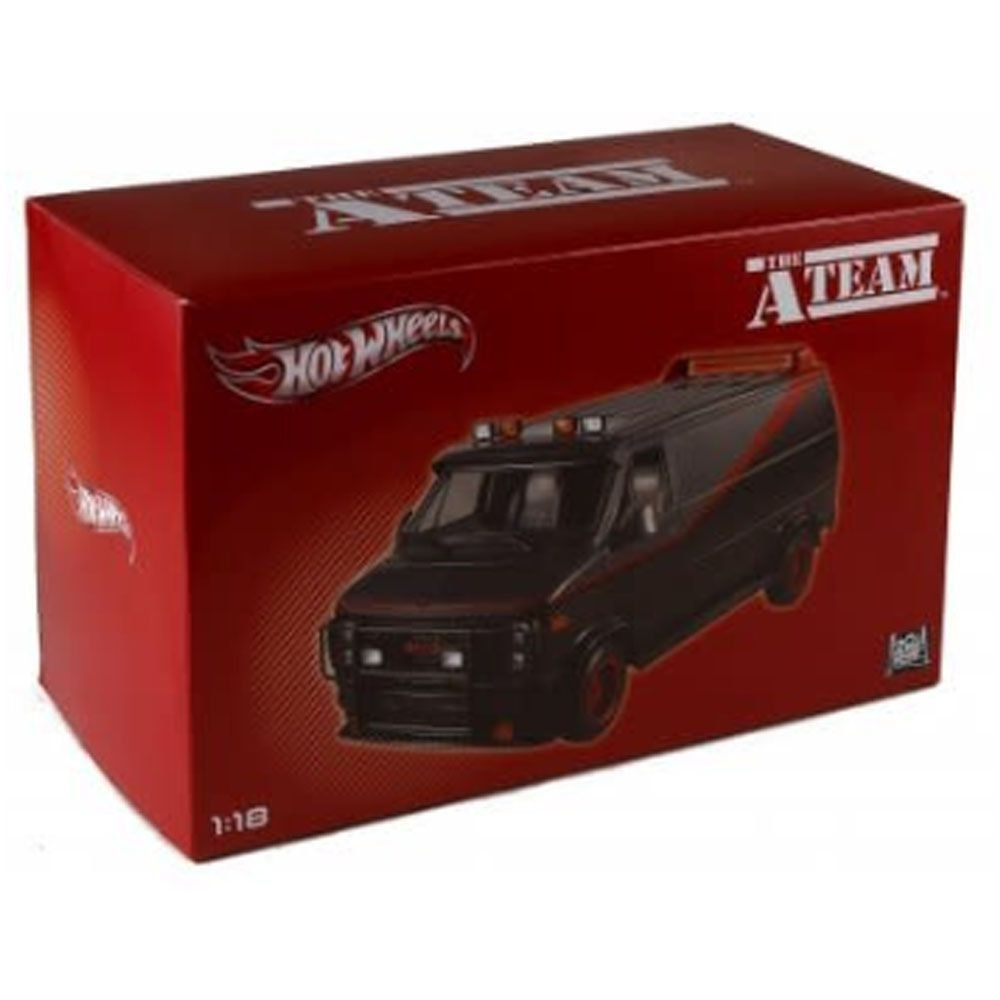 Miniatura Van GMC The A-Team Esquadrão Classe A Hot Wheels 1/18