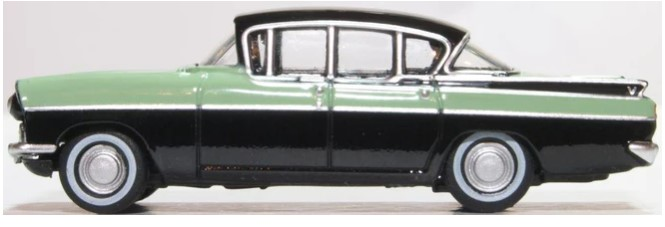 Miniatura Vauxhall Cresta Versailles Green/Black 1/76 Oxford
